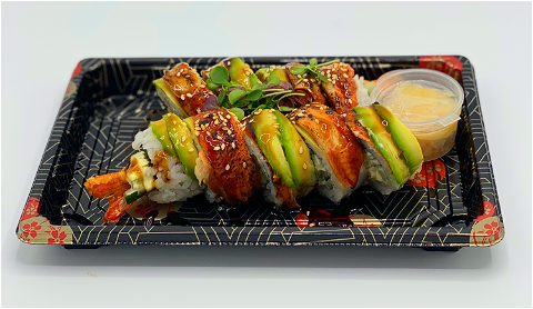 Foto Unagi Dragon Roll