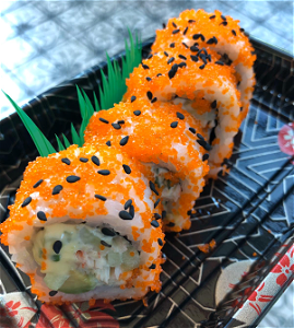 Foto HALVE California roll